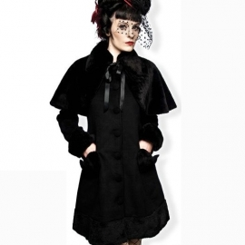 Manteau Gothique Queen of Darkness Winter Lolita