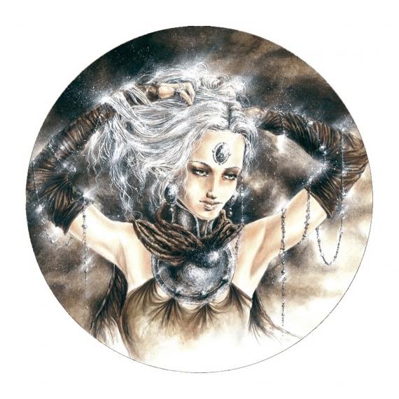 Miroir de poche gothique la dame blanche de olivier bernard for Dame blanche miroir minuit