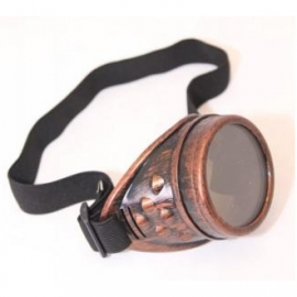 Monocle Steampunk Copper Style