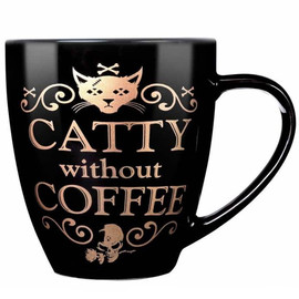 Mug Alchemy Gothic Catty Without Coffee