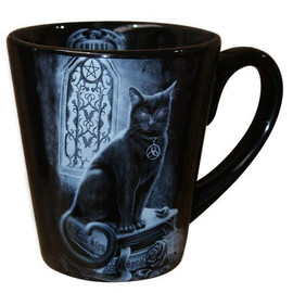 Mug Spiral Direct Black Cat