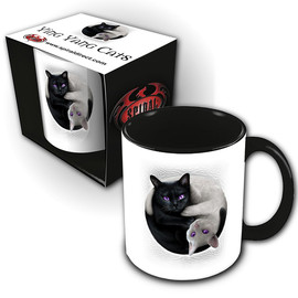 Mug Spiral Direct Yin Yang Cats