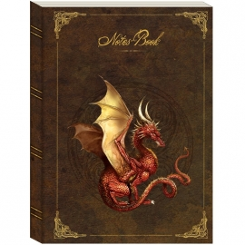 Carnet Intime Gothique Red Dragon
