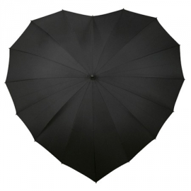 Parapluie Gothique Black Heart
