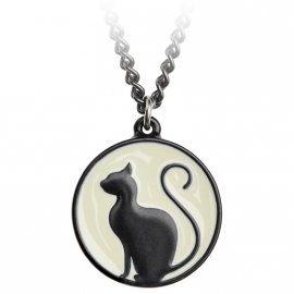 pendentif gothique alchemy gothic Meow at the Moon