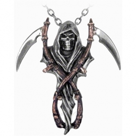 pendentif gothique alchemy gothic reaper'sa arms