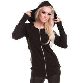 Poizen Industries Queen of the Night Sweat Gothique