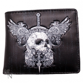 Portefeuille Gothique Skull & Wings