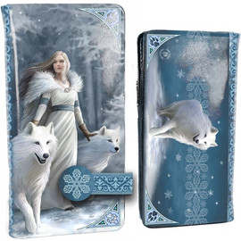 Portefeuille Gothique Anne Stokes Winter Guardian B3930K8
