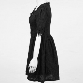 Punk Rave Q233 - Robe Gothique Punk Rave Ghost Dress