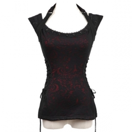 Punk rave Siren Song Top T332