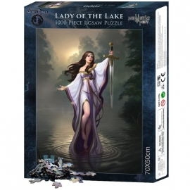 Puzzle gothique James Ryman Lady of the Lake