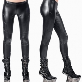 Queen of Darkness Legging Gothique Latex Look TR1-257