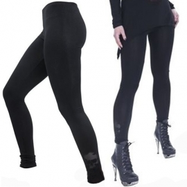 Queen of Darkness Legging Gothique Skull TR1-263
