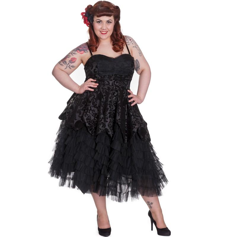 Robes Feminines Robe Gothique Grande Taille