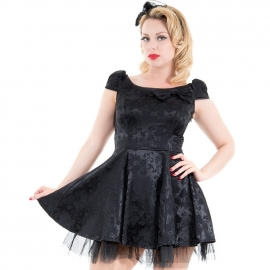 Robe Gothique HR London Emo Gothic Brocade 5372