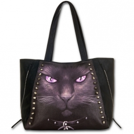 Sac Gothique Spiral Direct Black cat D008A306