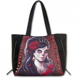 Sac Gothique Spiral Direct Day of the Dead K026A306