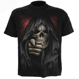 spiral direct  t-shirt gothique finger of death