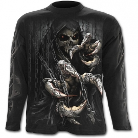 Spiral Direct Death Claws T-Shirt Spiral Direct T-Shirt Gothique Manches Longues