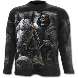Spiral Direct Death Rider T-Shirt Spiral Direct T-Shirt Gothique Manches Longues