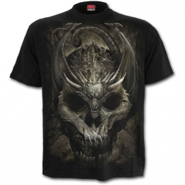 Spiral Direct Draco Skull K054M101 t-shirt SPIRAL DIRECT