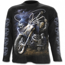 Spiral Direct Ride to Hell T-Shirt Spiral Direct T-Shirt Gothique Manches Longues