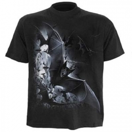 spiral direct t-shirt gothique nightfall