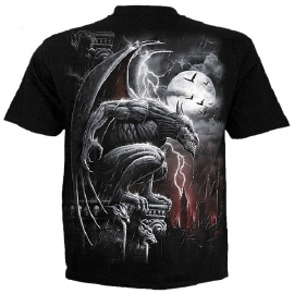 spiral direct t-shirt gothique Stone Guardian