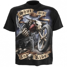 Spiral Direct T-shirt Shut Up and Ride TR343600