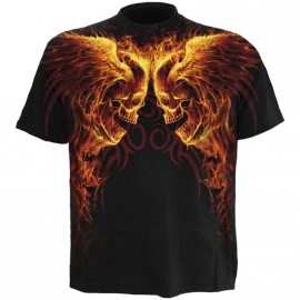 Spiral Direct T-shirt Burn in Hell - Spiral Direct WR140606