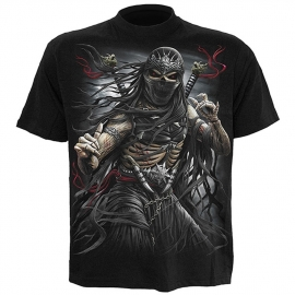 Spiral Direct T-shirt Gothique Ninja Assassin - Spiral Direct TR349600