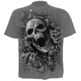 Spiral Direct T-shirt Gothique Skulls Cove - Spiral Direct DS125622