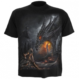 Spiral Direct WM126600 Dragon Slayer T-Shirt Gothique