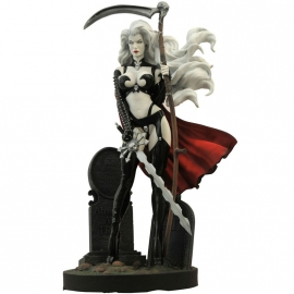 Statuette Lady Death The Reckoning