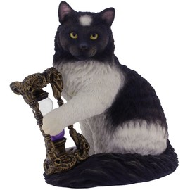 Statuette Chat Lisa Parker Time's up B2800G6