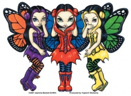 Sticker Fée Jasmine Becket-Griffith AD902