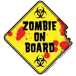 Sticker Zombie on Board