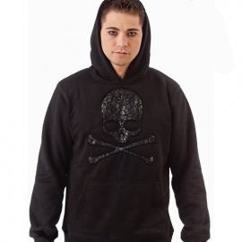 Sweat gothique Queen of Darkness Skulls in Skull SH22-179