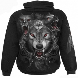 sweat gothique spiral direct wolf triad