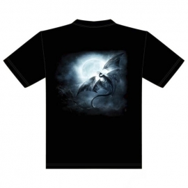 t-shirt gothique dragon de scandinavie