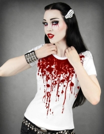 t-shirt gothique Blood