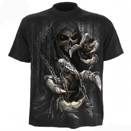 t-shirt gothique spiral direct death claws