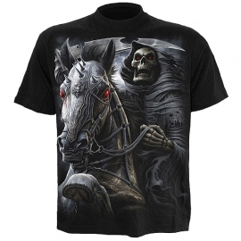 t-shirt gothique spiral direct death rider