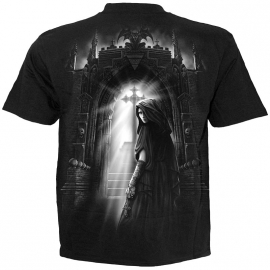 t-shirt gothique spiral direct exorcism