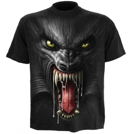 t-shirt gothique spiral direct lycan tribe