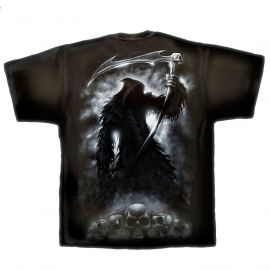 t-shirt gothique spiral direct shadow of death