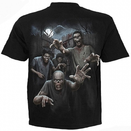 t-shirt gothique spiral direct zombies unleashed