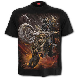 T-Shirt Spiral Direct Bike Life - tshirt SPIRAL DIRECT T172M101