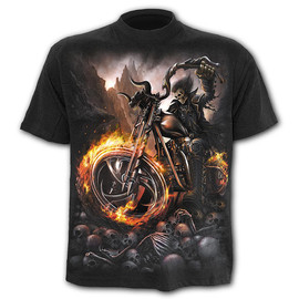 T-Shirt Spiral Direct Wheels of Fire - tshirt SPIRAL DIRECT T061M101